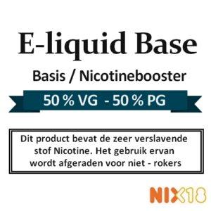 Nicotine booster | E-liquid Base