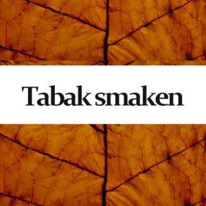 Go Green Tabaksmaken