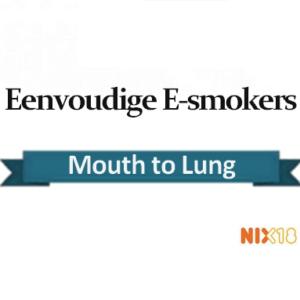 Eenvoudige E-smokers