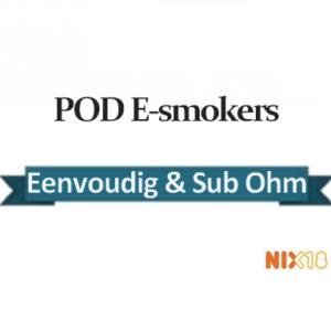 POD e-smokers